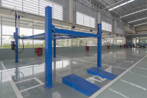 Industrial Flooring for Manufacturing & Warehouses
