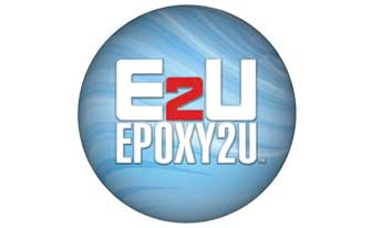 E2U metallic epoxy Logo